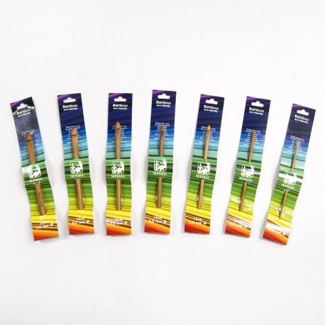 Ganchillos Bamboo de Mondial de 3 a 9mm