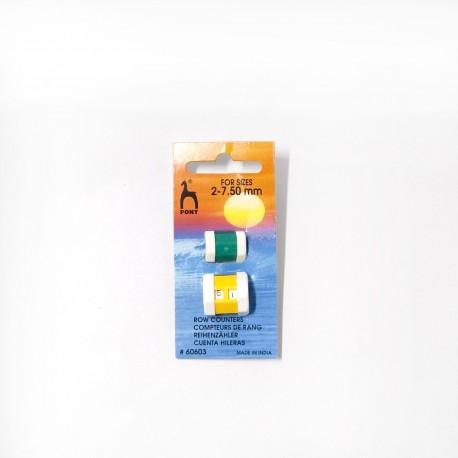 Cuenta hileras de 2 a 7.5 mm