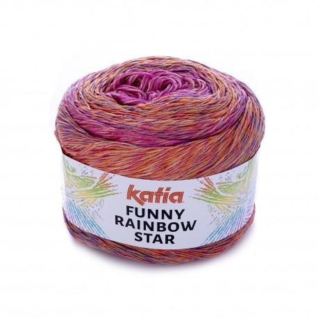 Funny Rainbow Star de Katia